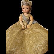 Vintage Madame Alexander Cissy Doll as Queen Elizabeth
