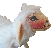 Sweet Cloth Sheep for Your Doll's Prop