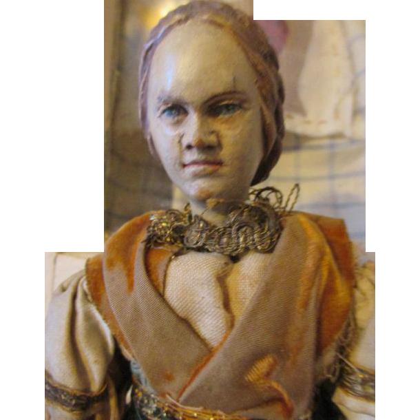 Antique Neapolitan Unusual Child Creche Figure