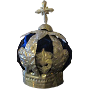Antique Metal Crown for Your Antique Doll