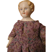 "Sweet 9"" Blond Parian China Head Doll"