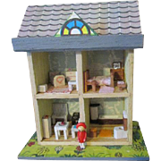 Tiny Doll House for Your Antique Doll