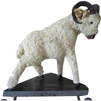 Antique Wool Covered Ram