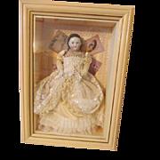 Kestner Alice China Head Doll in a Diarama