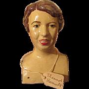 Eleanor Roosevelt Doll Head