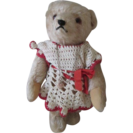 "Sweet 10"" Teddy for Your Large Doll"