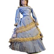 Stunning French Fashion Gown for Your French Doll