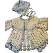 Knit Sweater Set for Dy-Dee Baby