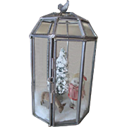 Miniature Leaded Glass Diorama Green House
