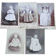 Antique Baby Photos from 1890's