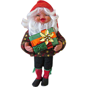 Adorable Vintage Christmas Elf or Gnome