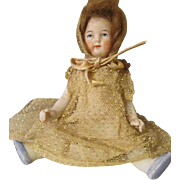 "Sweet 6"" All Bisque Doll marked 5114"