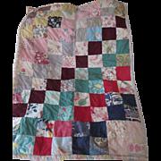 Antique Handmade Doll Quilt