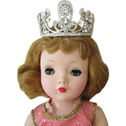 Beautiful Diamond Crown for Your Doll