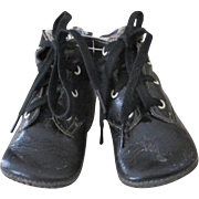 Antique Leather Baby Doll Boots