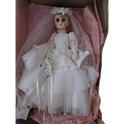 "Madame Alexander Elise #1685 17"" Bridal doll in her original box"