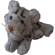 Sweet Vintage Mohair Tiger for Your Doll
