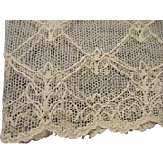 Lovely Wide Ivory Lace For Doll Dress Making