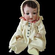 Rare Antique Bisque Head Otto Gans AM 975 Doll