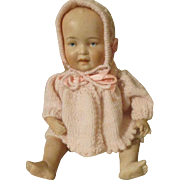 """Sweet 8.5"""" Antique All Bisque Baby Doll"""