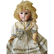 Stunning Antique French Bisque Head Doll