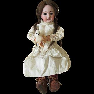 Jumeau DEP Antique Bisque Head Doll