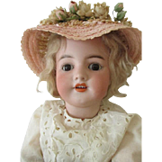 Sweet Simon Halbig 550 Bisque Head Doll