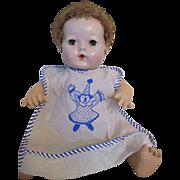 Vintage Plastic Doll Bib