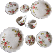 Stunning Miniature Doll House Dishes
