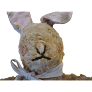 Antique Mohair Bunny for Doll Prop