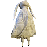 China Head Doll Replacement Body with Underclothes