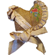 Stunning Bonnet for your Bisque Head Doll