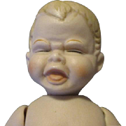 Vintage All Bisque Cry Baby Doll