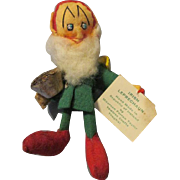 Tiny Cloth Leprechaun Doll