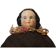 "Antique 7.5"" China Head Doll"