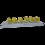 Antique German Cotton Spun Baby Chicks