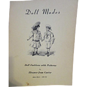 "Doll Modes: Doll Fashions with Patterns 10-12"" Dolls 1900-1930"