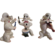 China Poodles Playing Instruments
