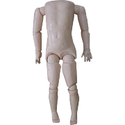 "Large 23"" Composition Doll Body"