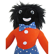 Cloth Golliwog made by Merrythought