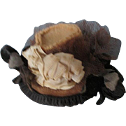 Sweet Antique Doll Bonnet