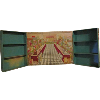 Sunshine Biscuit Miniature General Store with Display Racks