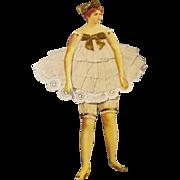 Vintage Flapper Paper Doll