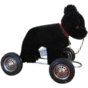 Hermann Teddy Bear on Wheels for Your Antique Doll Accessory