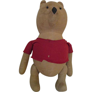 Vintage Whinnie the Pooh Bear Doll