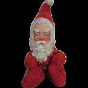 Vintage Plush Santa Doll