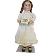Stunning CM Bergmann Bisque Head Doll