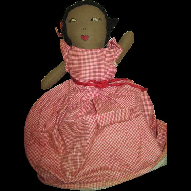 "Vintage 14"" Topsy Turvy Doll"