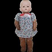 Vintage 1940's Ideal Plassie Doll Magic Skin Baby