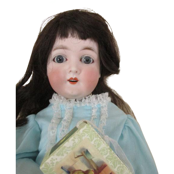 Stunning Queen Louise Bisque Head Doll